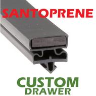 Profile 550 - Custom Hot-Side Drawer Gasket