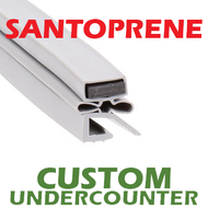 Profile 591 - Custom Hot-Side Undercounter Door Gasket