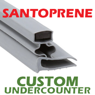Profile 703 - Custom Hot-Side Undercounter Door Gasket
