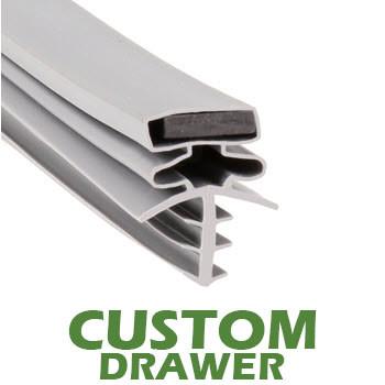 Profile-301-Custom-Drawer-Gasket-gasket,301,Bally,Brown-1