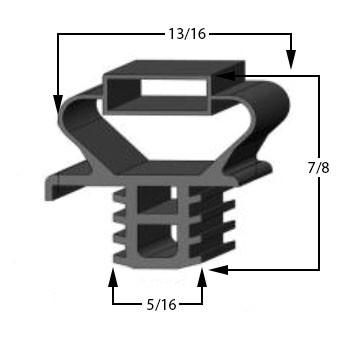 Profile-891-Custom-Drawer-Gasket-gasket,891,Delfield-2
