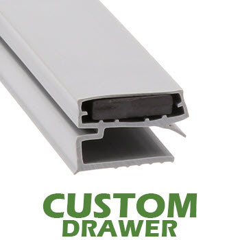 Profile-424-Custom-Drawer-Gasket-gasket,424,Carter-Hoffman,Stanley-Knight,Traulsen-1