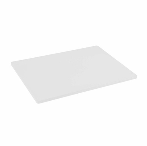 18 x 24 Standard Economy White Poly Cutting Board - 1