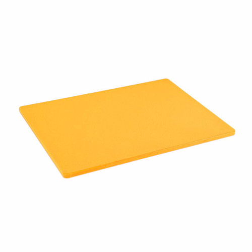 12 x 18 Standard Economy Yellow Poly Cutting Board