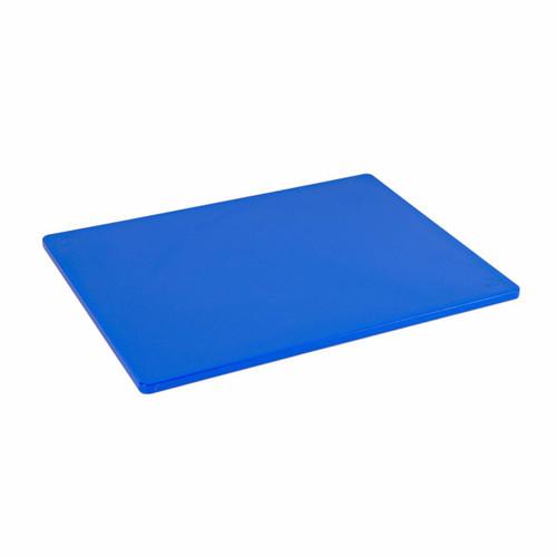 15 x 20 Standard Economy Blue Poly Cutting Board