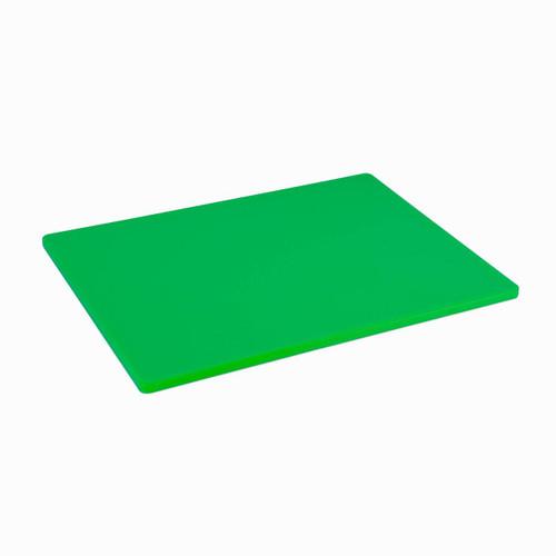 18 x 24 Standard Economy Green Poly Cutting Board