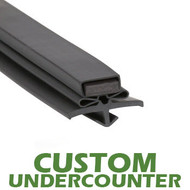 Profile-016-Custom-Undercounter-Door-Gasket-gasket,016,Beverage-Air-Nor-Lake,Perlick,Star-Starrett-True-Mfg-Victory-1