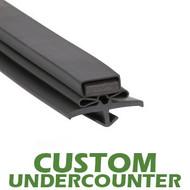 Profile 016 - Custom Undercounter Door Gasket  sc 1 th 190 & CoolerGaskets.com - Refrigeration Door Gaskets Made Easy!