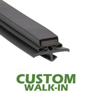 Profile-016-Custom-Walk-in-Door-Gasket-gasket,016,Beverage-Air-Nor-Lake,Perlick,Star-Starrett-True-Mfg-Victory-1
