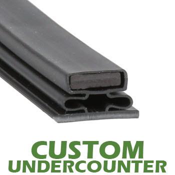Profile-716-Custom-Undercounter-Door-Gasket-gasket,716,Howard-1