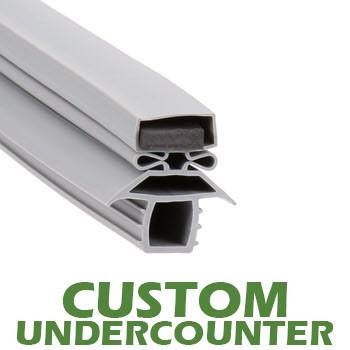 Profile-691-Custom-Undercounter-Door-Gasket-gasket,691,Traulsen-1