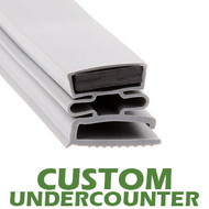 Profile-494-Custom-Undercounter-Door-Gasket-gasket,494,Continental,Duke,Leer,Nor-Lake,Progressive,Tyler,Utility,Victory-1