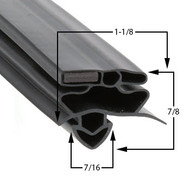 True-Mfg-929091-Gasket-23-9/16 X 51-1/8