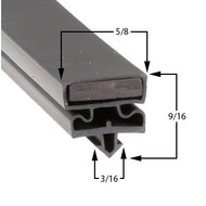 Styleline-Gasket-5595BCR5-35-3/4-80-3-sided