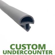 Profile 738 - Custom Hot-Side Undercounter Door Gasket