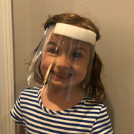 Reusable Baby / Toddler Face Shields (CGDBFS)