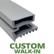 Profile 425 - Custom Walk-in Door Gasket