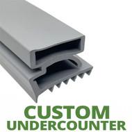 Profile 425 - Custom Undercounter Door Gasket