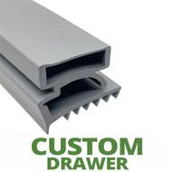 Profile 425 - Custom Drawer Gasket