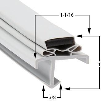 American-Panel-Gasket-35-13/16-x-75-7/16-WC-1-1
