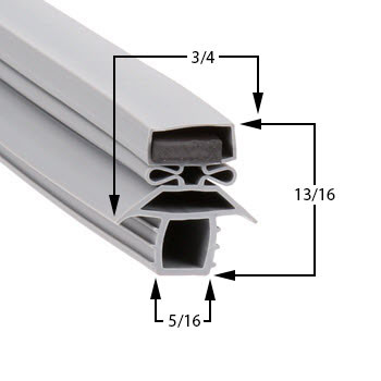Traulsen-Gasket-16-3/4-x-44-1/2-27808-37935-1