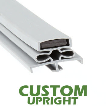 Profile-166-Custom-Upright-Door-Gasket-gasket-166-Coldtech-Continental-Glenco-Manitowoc-Stanley-Knight-Traulsen,-1