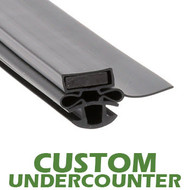 Profile-254-Custom-Undercounter-Door-Gasket-gasket-254-Turbo-Air-1