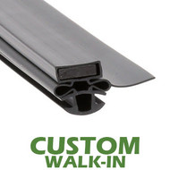 Profile-254-Custom-Walk-in-Door-Gasket-gasket-254-Turbo-Air-1