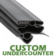 Profile-258-Custom-Undercounter-Door-Gasket-gasket-258-True-1