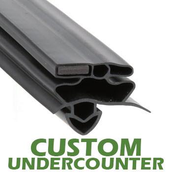 Profile-258-Custom-Undercounter-Door-Gasket-gasket-258-True-1