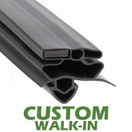 Profile-258-Custom-Walk-in-Door-Gasket-gasket-258-True-1
