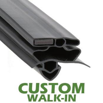 Profile-258-Custom-Walk-in-Door-Gasket-gasket-258-True-1