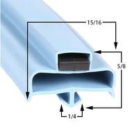 Delfield-Gasket-9-1/2-x-15-13/16-170-1057-1701057-V17960114-17-252-1