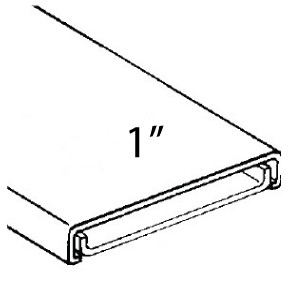 heater wire trim - track  u0026 cap - 1 u0026quot