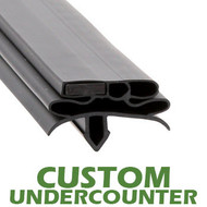 Profile-582-Custom-Undercounter-Door-Gasket-gasket-582-True-1
