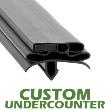 Profile-582-Custom-Undercounter-Door-Gasket-gasket-582-True-1
