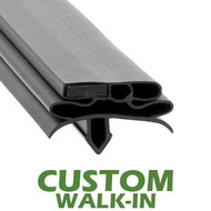 Profile-582-Custom-Walk-in-Door-Gasket-gasket-582-True-1