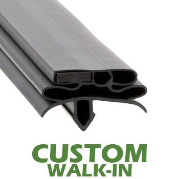 Profile-582-Custom-Walk-in-Door-Gasket-gasket-582-True-1