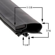 Zero-Zone-Gasket-29-1/4-x-62-11-283-75-0778-3RMZP30-4RMZC30-3RMZC30-5RMZC30-4RMZP30-1