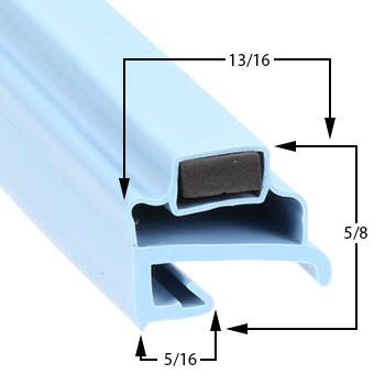 Delfield-Gasket-24-5/8-x-25-5/8-17-120-V18666BST-V18666BUC-V18381-V18381PT-V18699PTB-18666BST-V18666PT-1
