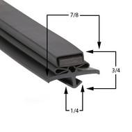 True-Mfg-810773-Gasket-14-x-42-3/4-810773-GDM-14RF-61-705-GDM14RF-GDM-14-GDM-14RF-GDM14-GDM14RF-1