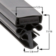 Traulsen-Gasket-22-3/4-x-29-1/2-Profile-504-60-381-G21000-G21003-G11001-1