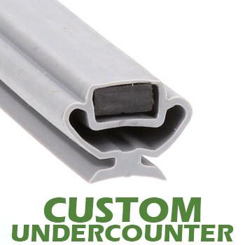 Profile-829-Custom-Undercounter-Door-Gasket-gasket,829-Bevles-2