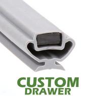 Profile-829-Custom-Drawer-Gasket-gasket,829-Bevles-2
