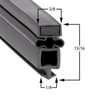 True-Mfg-810768-Gasket-24-x-25-7/8-810768-61-621-TS-53-4G-4-PT-TS534G4PT-2