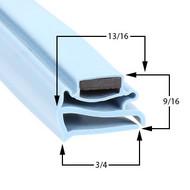 Delfield-Gasket-24-3/4-x-60-3/4-1702167-17-323-Spec-Line-Full-Glass-Door-1