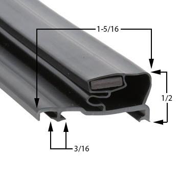 Ardco-Gasket-23-1/4-x-54-5/16-RS-2-SN2-02-81055-0001-2