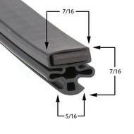 Kelvinator-Gasket-24-1/4-x-59-3/4-10-149-1