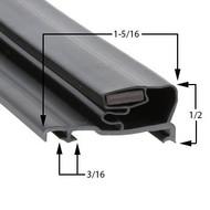 Schott Gemtron Gasket 3M-0016-034 23 13/16 x 64 3/4
