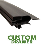 Profile 697 - Custom Drawer Door Gasket